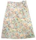 【アウトレット】花柄スカート 日本製