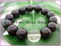 ブラックオニキス14mm 天然石ブレス サイズS/M/L